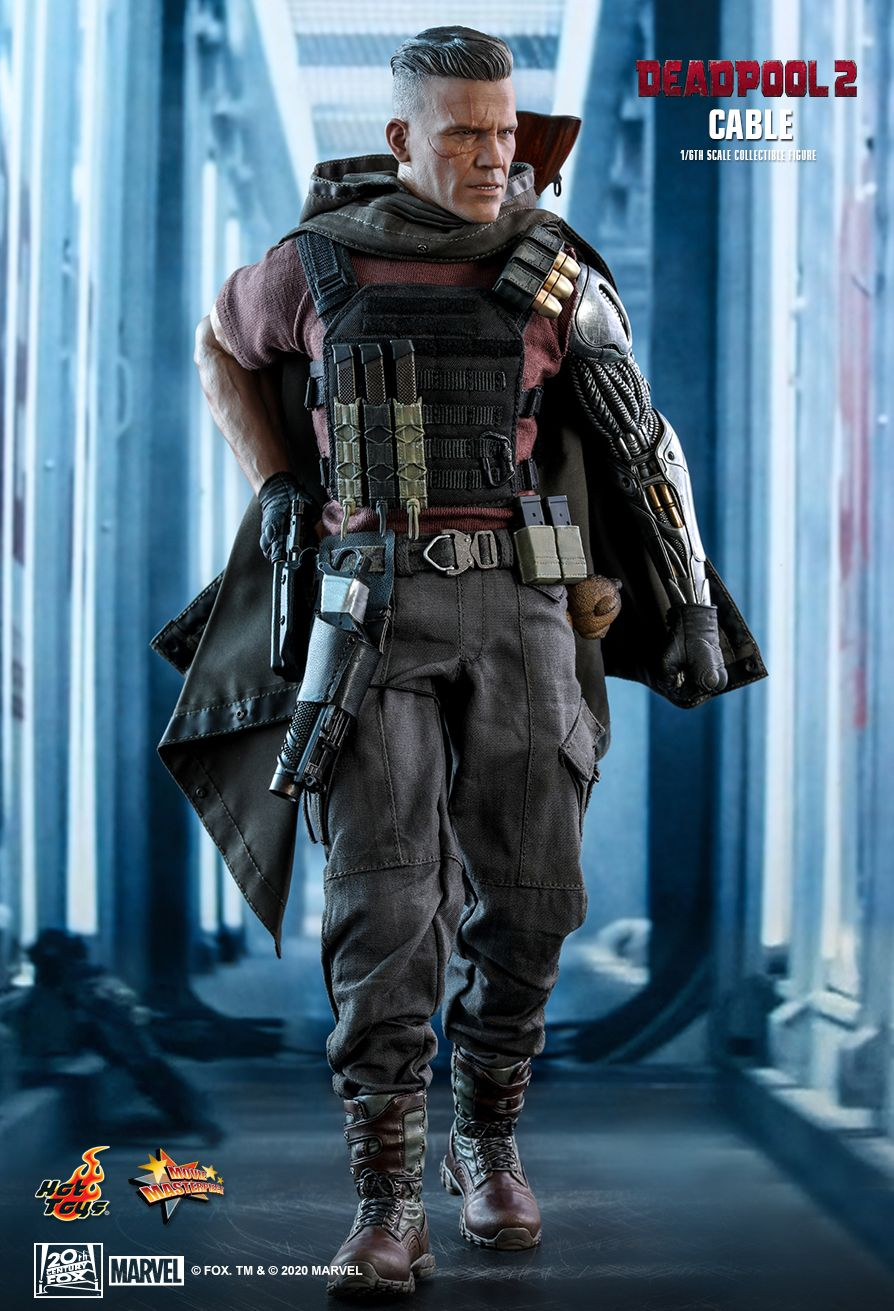 NEW PRODUCT: HOT TOYS: DEADPOOL 2 CABLE 1/6TH SCALE COLLECTIBLE FIGURE 4377