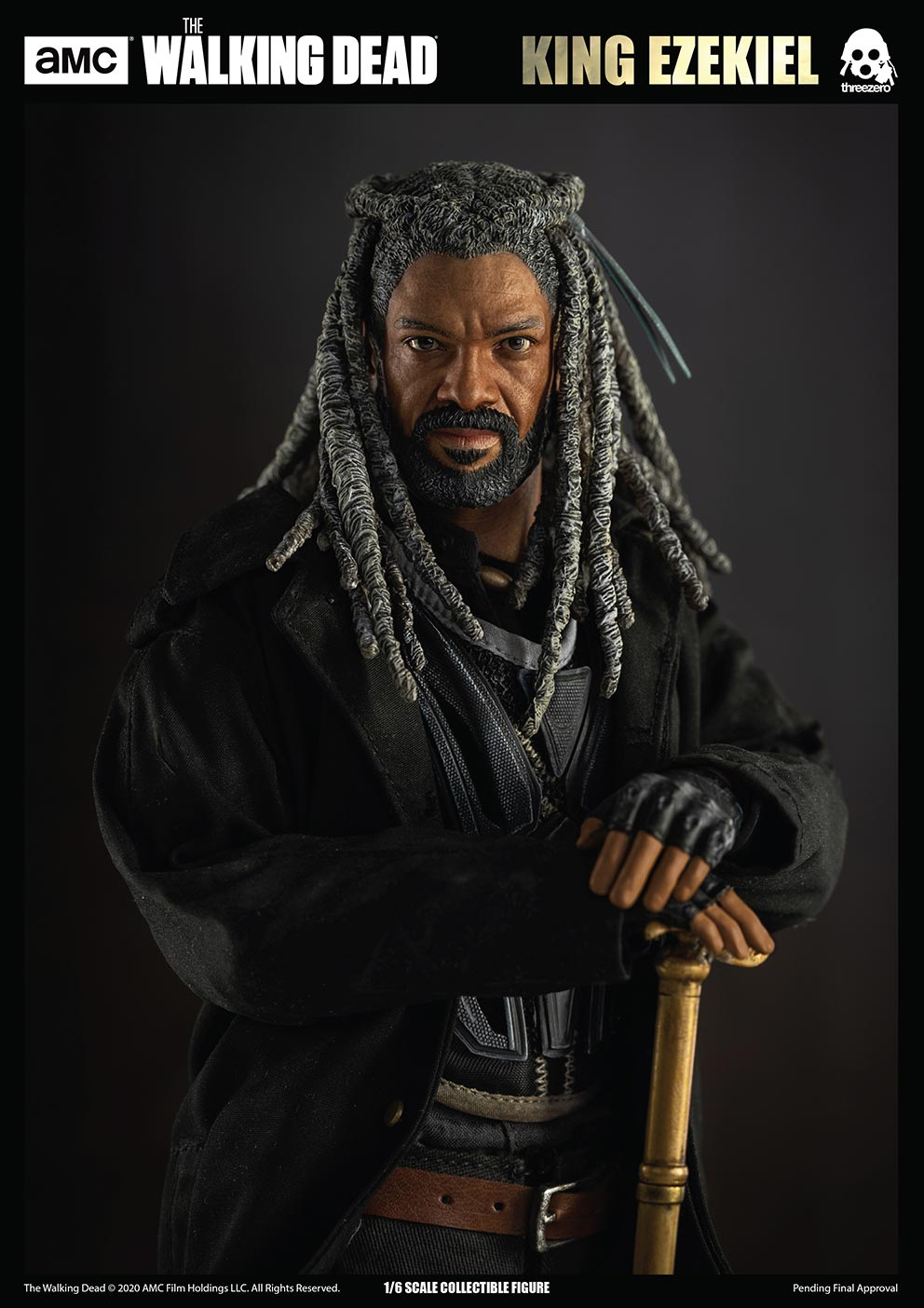 walkingdead - NEW PRODUCT: Threezero: The Walking Dead – 1/6 King Ezekiel 4379