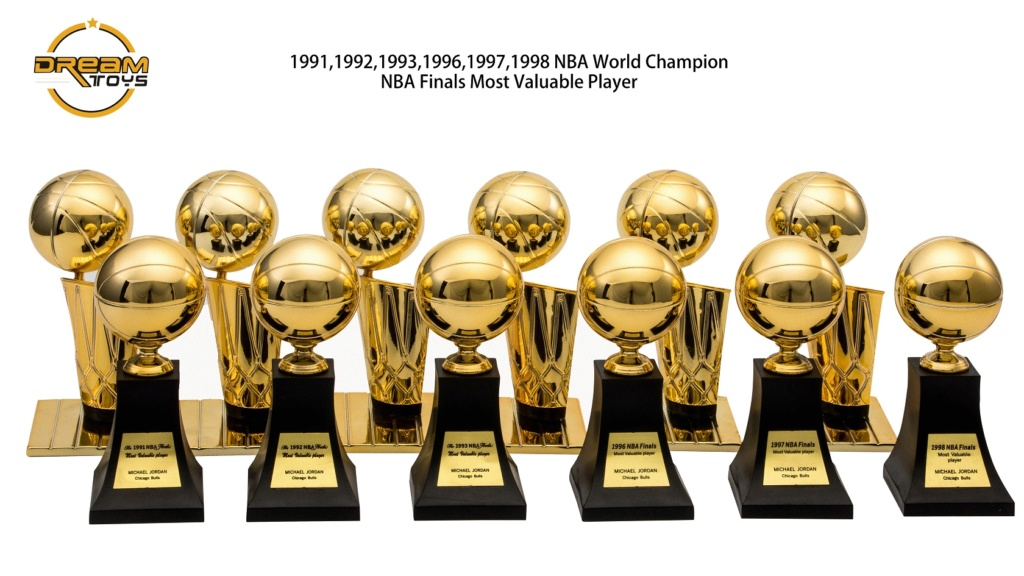 NEW PRODUCT: DREAMTOYS New: 1/6 MJ23 KB24 Jordan / Kobe - Honor Trophy Set 438