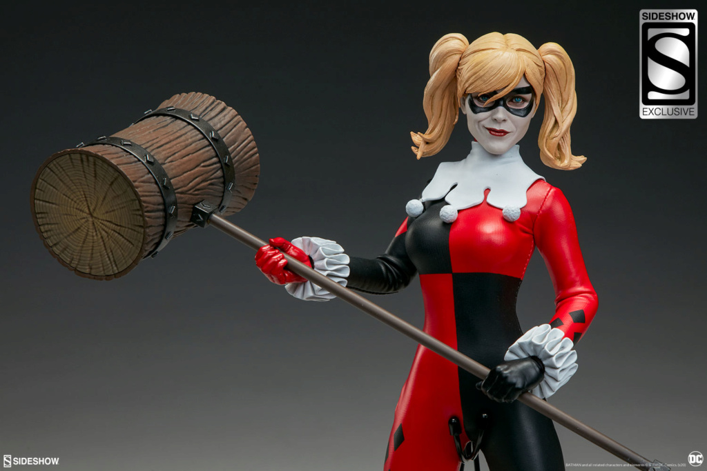 batman - NEW PRODUCT: Sideshow Collectibles: Harley Quinn Sixth Scale Figure 4380