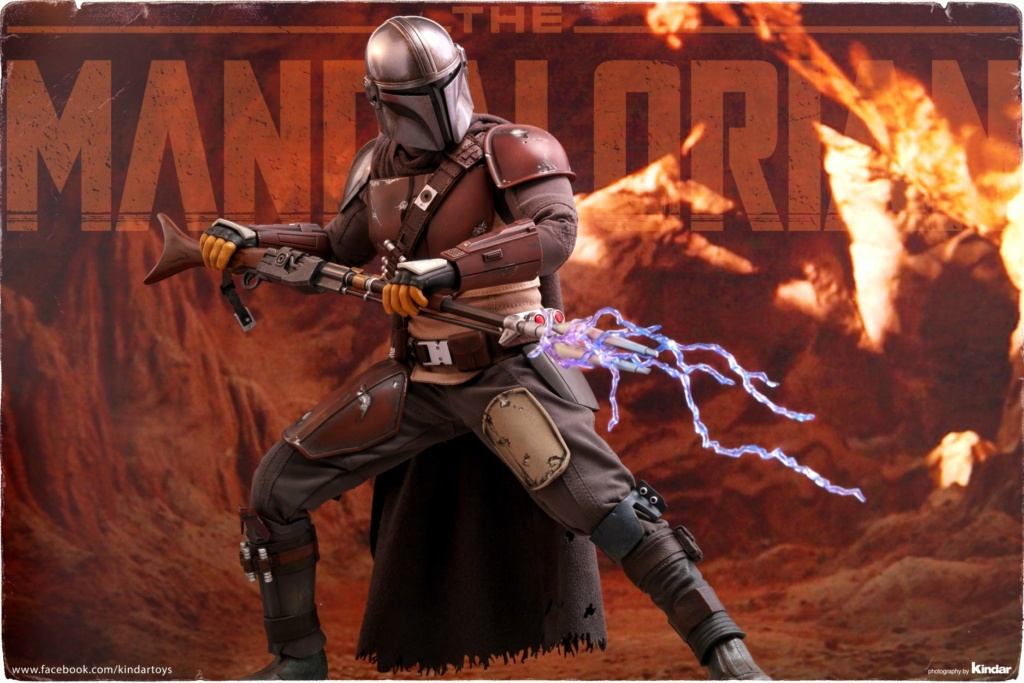 StarWars - NEW PRODUCT: HOT TOYS: THE MANDALORIAN -- THE MANDALORIAN 1/6TH SCALE COLLECTIBLE FIGURE 4383