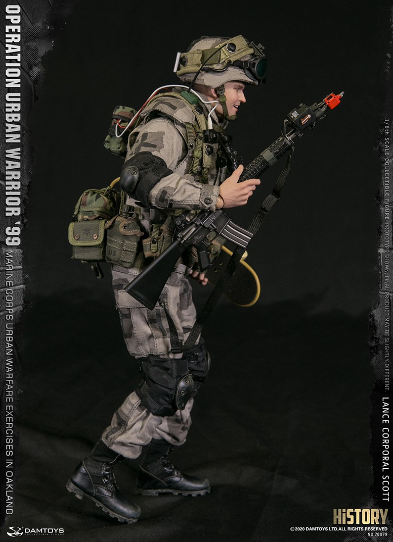 MarineCorps - NEW PRODUCT: DAMToys: 1/6 '99 City Warrior Operation-Marine Corps Oakland City Battle Exercise - Lance Corporal Scott #78079 4389