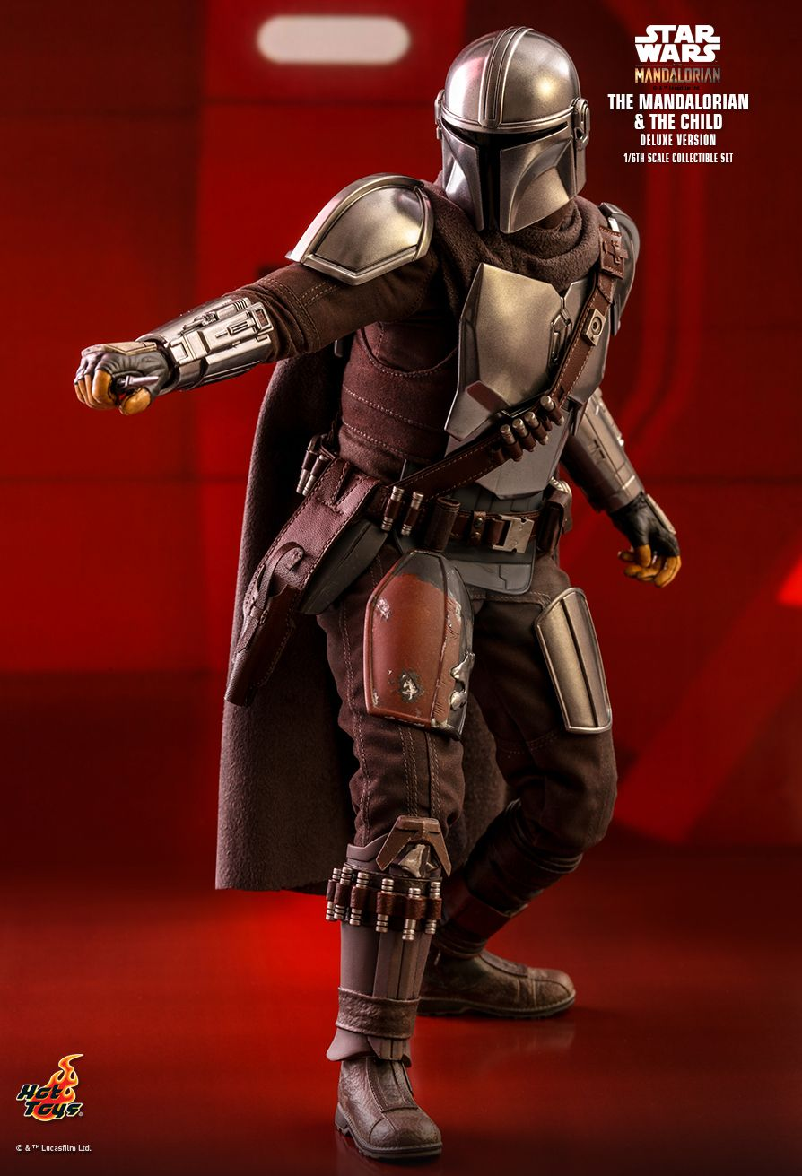 Sci-Fi - NEW PRODUCT: HOT TOYS: THE MANDALORIAN THE MANDALORIAN AND THE CHILD 1/6TH SCALE COLLECTIBLE SET (Standard and Deluxe) 43a28d10