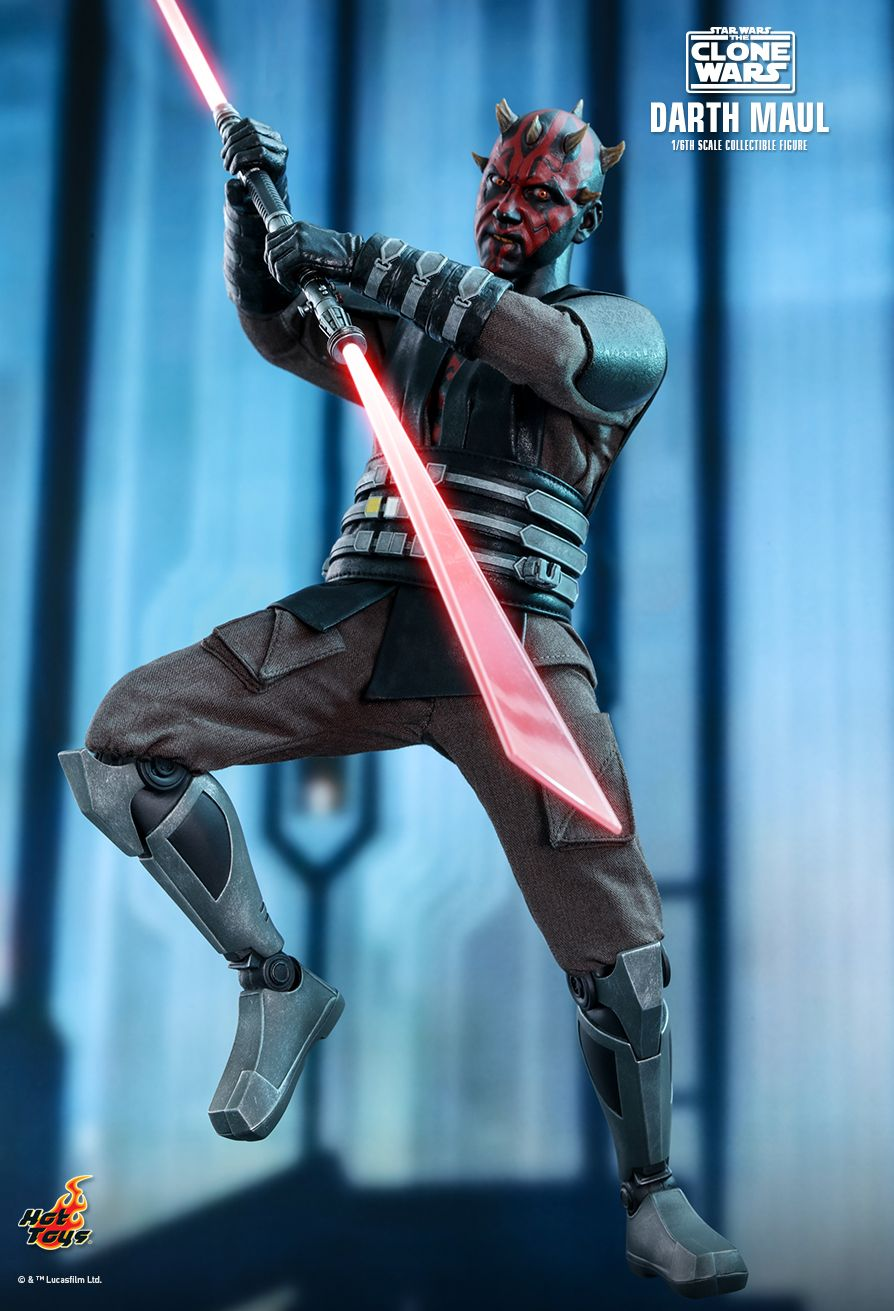 Sci-Fi - NEW PRODUCT: HOT TOYS: STAR WARS: THE CLONE WARS™ DARTH MAUL™ 1/6TH SCALE COLLECTIBLE FIGURE 4402