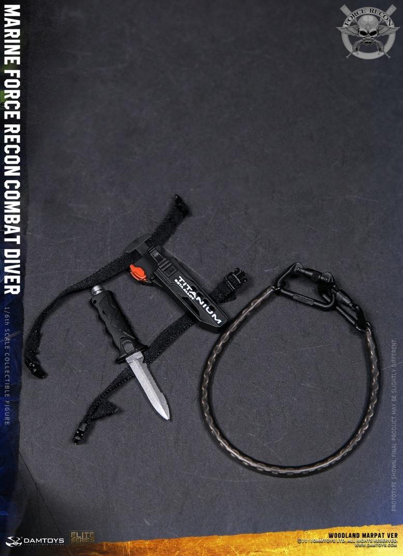 DamToys - NEW PRODUCT: DAM Toys: Marine Force Recon Combat Diver (Desert MARPAT) (GIDAM-78056) & (Woodland MARPAT) (GIDAM-78055) 4411