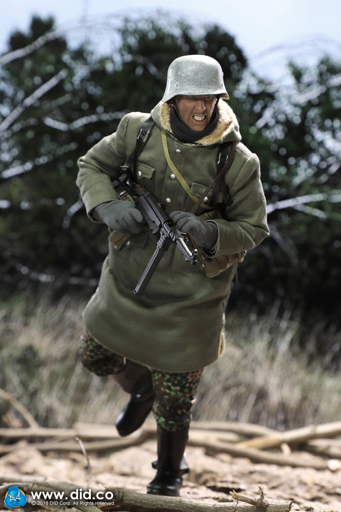 DiD - NEW PRODUCT: DiD 1/6 scale figure Egon - SS-Panzer-Division Das Reich MG42 Gunner B 442