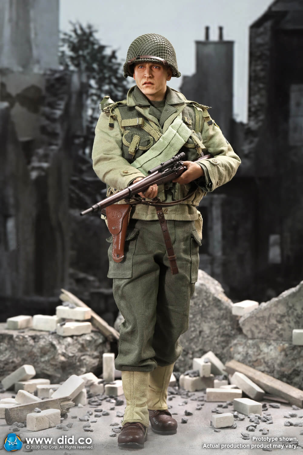 DiD - NEW PRODUCT: DiD: A80144 WWII US 2nd Ranger Battalion Series 4 Private Jackson 4424