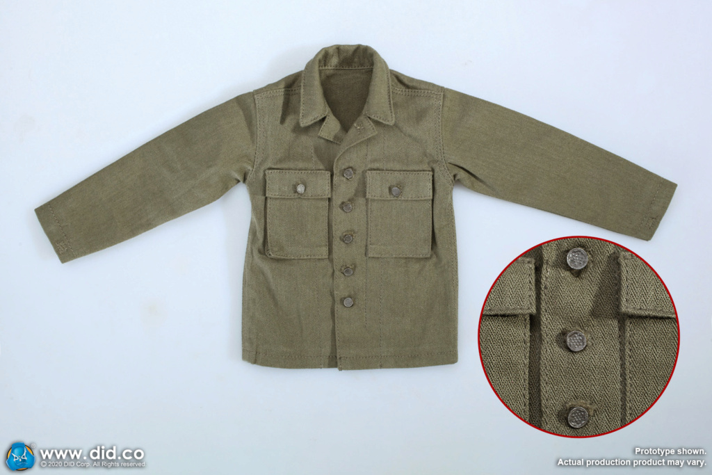 DiD - NEW PRODUCT: DiD: A80144 WWII US 2nd Ranger Battalion Series 4 Private Jackson 4425