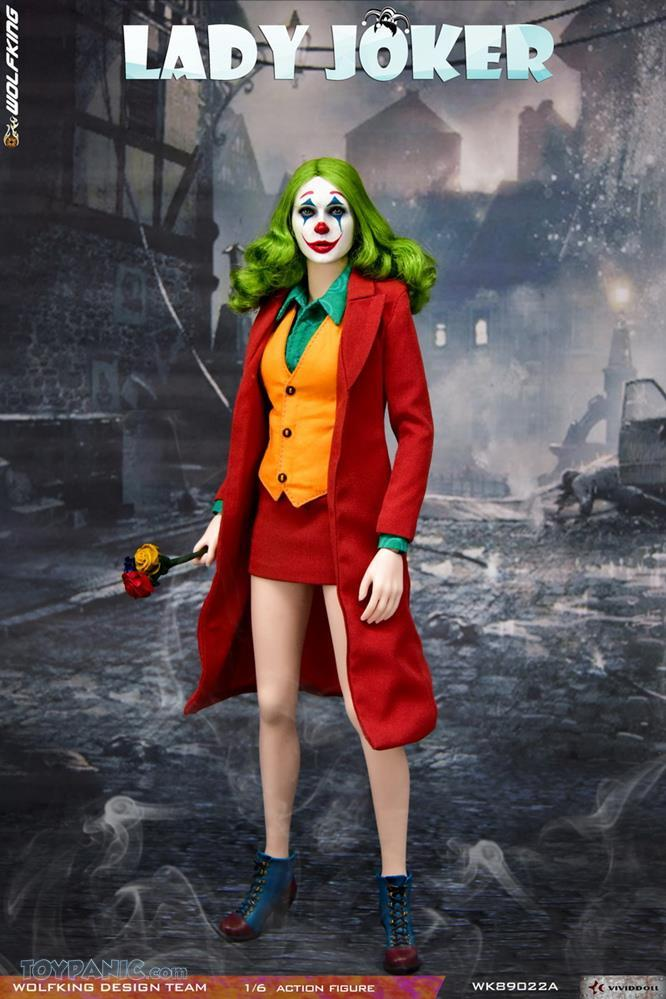 Wolfking - NEW PRODUCT: Wolfking: 1/6 scale Female Joker figure (Standard and Deluxe Editions) 45f8b210
