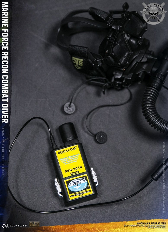 DamToys - NEW PRODUCT: DAM Toys: Marine Force Recon Combat Diver (Desert MARPAT) (GIDAM-78056) & (Woodland MARPAT) (GIDAM-78055) 4611