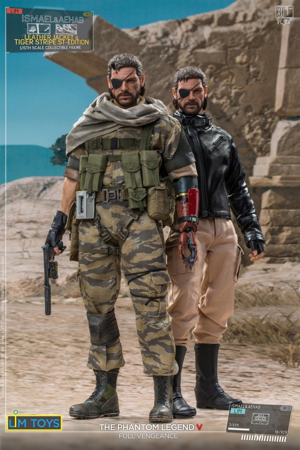 Videogame - NEW PRODUCT: 1/6 Scale LIMTOYS LIM005 Ismael &Aehab EP52-THE OTHER SHADOW edition 469