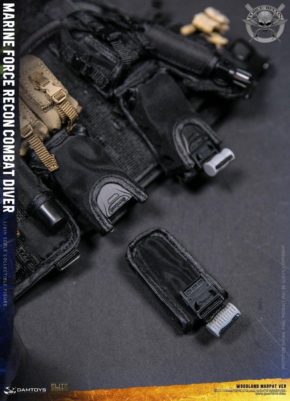 DamToys - NEW PRODUCT: DAM Toys: Marine Force Recon Combat Diver (Desert MARPAT) (GIDAM-78056) & (Woodland MARPAT) (GIDAM-78055) 4711