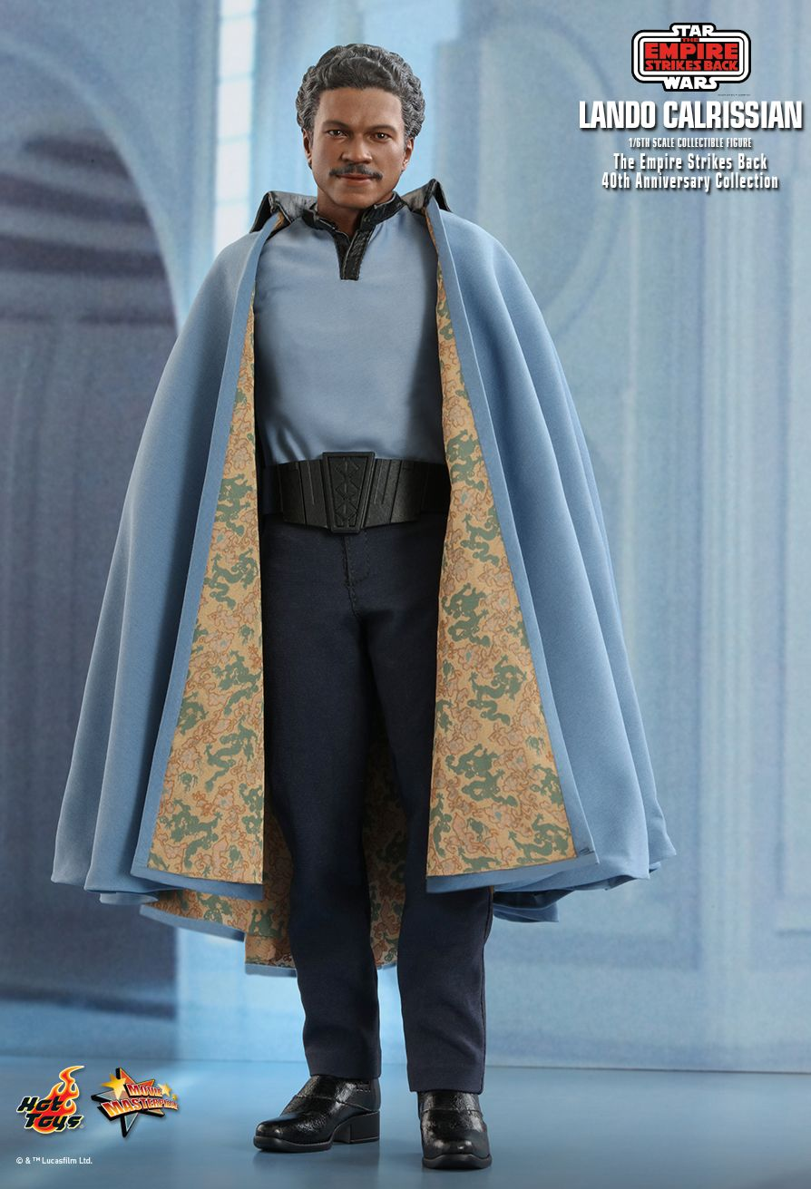 movie - NEW PRODUCT: HOT TOYS: STAR WARS: THE EMPIRE STRIKES BACK™ LANDO CALRISSIAN™ (STAR WARS: THE EMPIRE STRIKES BACK 40TH ANNIVERSARY COLLECTION) 1/6TH SCALE COLLECTIBLE FIGURE 474c3910