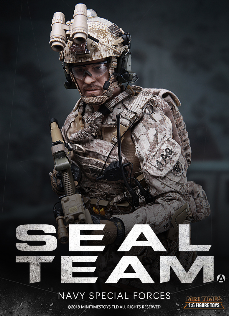 NEW PRODUCT: MINI TIMES TOYS US NAVY SEAL TEAM SPECIAL FORCES 1/6 SCALE ACTION FIGURE MT-M012 490