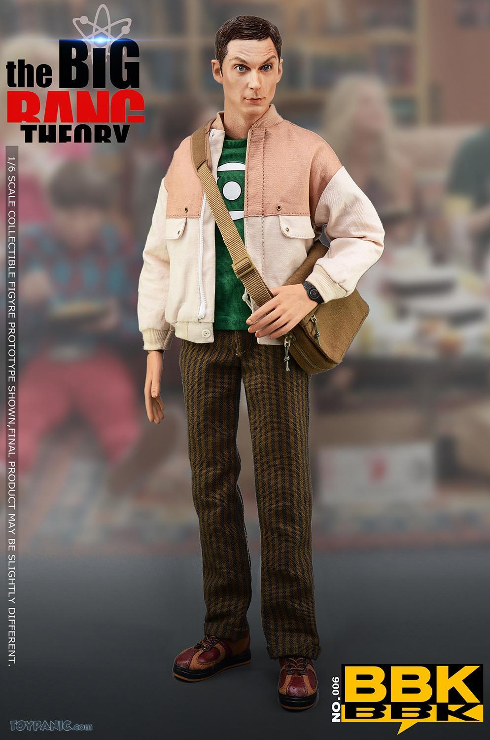 bbk - NEW PRODUCT: BBK: 1/6 scale The Big Bang Theory Sheldon Cooper Action Figure (BBK06) 49201910