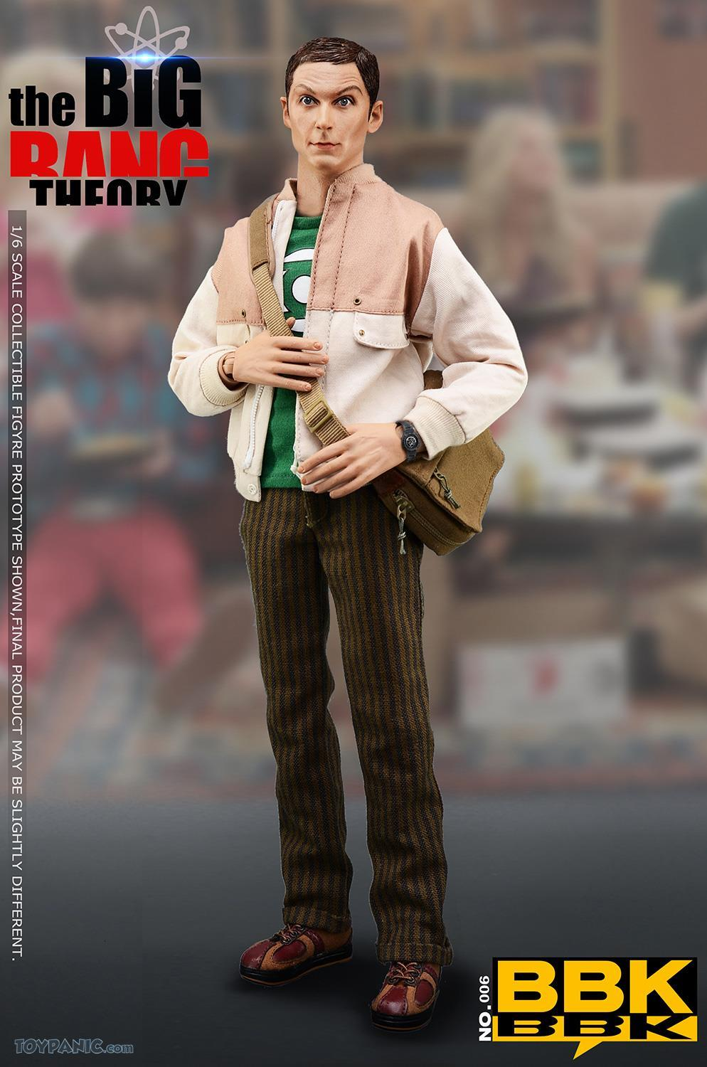 bbk - NEW PRODUCT: BBK: 1/6 scale The Big Bang Theory Sheldon Cooper Action Figure (BBK06) 49201911