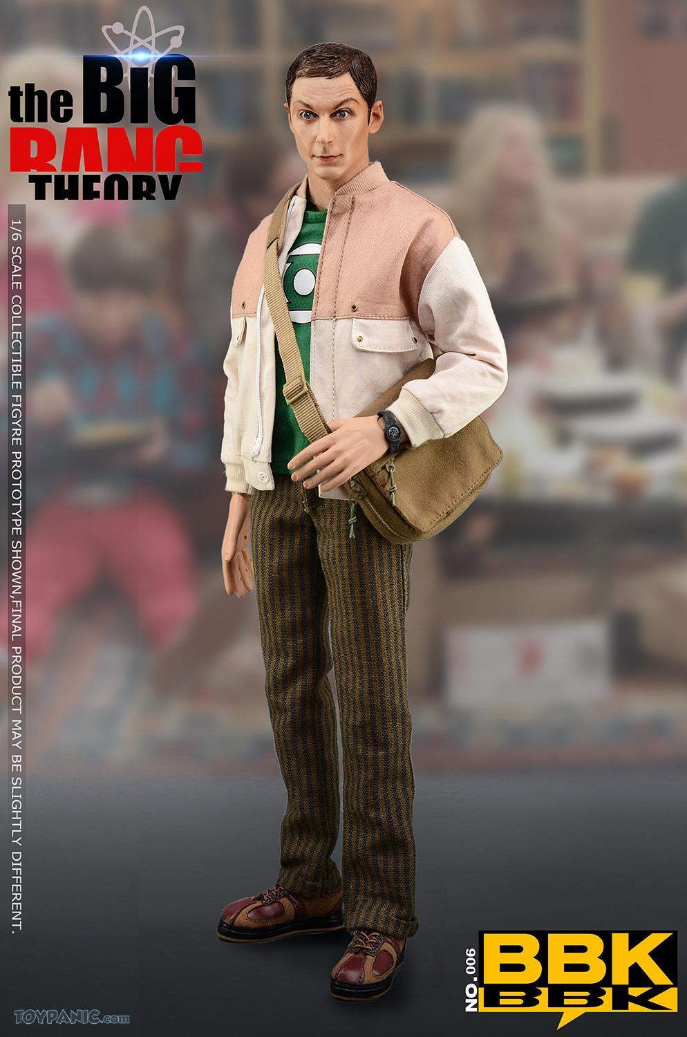 bbk - NEW PRODUCT: BBK: 1/6 scale The Big Bang Theory Sheldon Cooper Action Figure (BBK06) 49201912