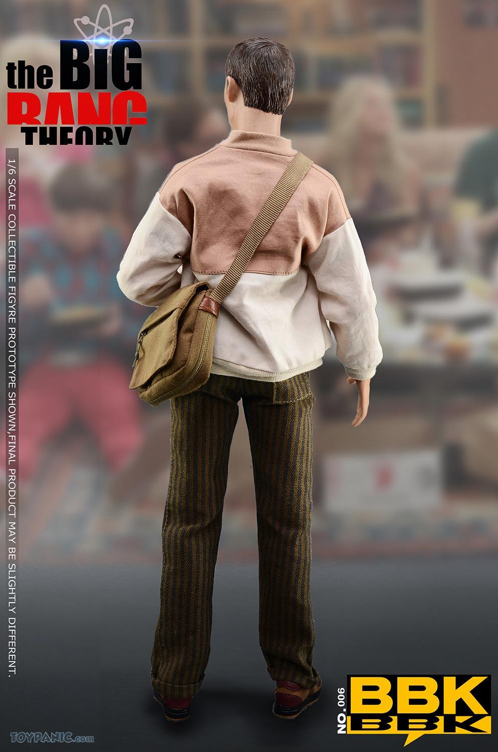 bbk - NEW PRODUCT: BBK: 1/6 scale The Big Bang Theory Sheldon Cooper Action Figure (BBK06) 49201913