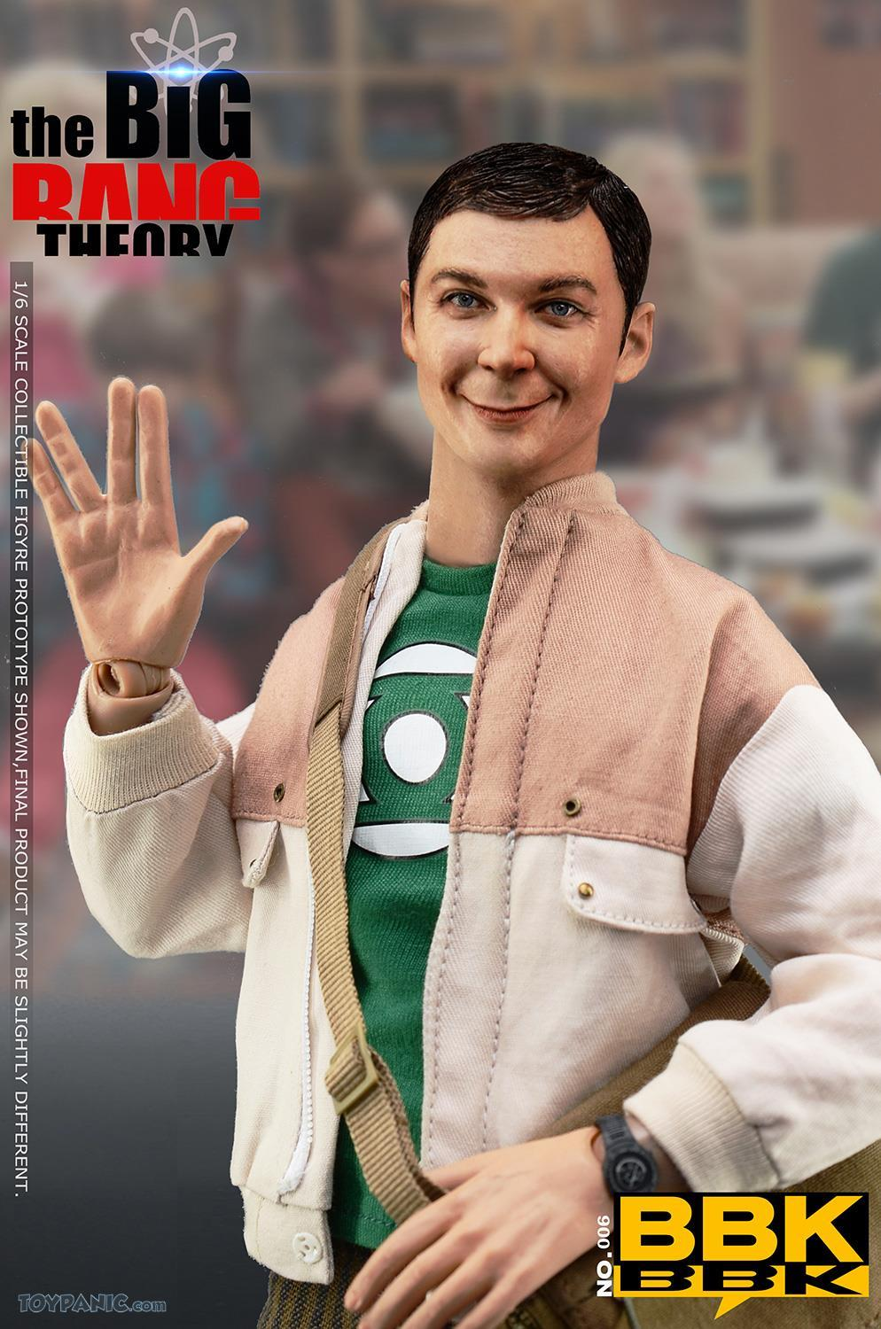 bbk - NEW PRODUCT: BBK: 1/6 scale The Big Bang Theory Sheldon Cooper Action Figure (BBK06) 49201914