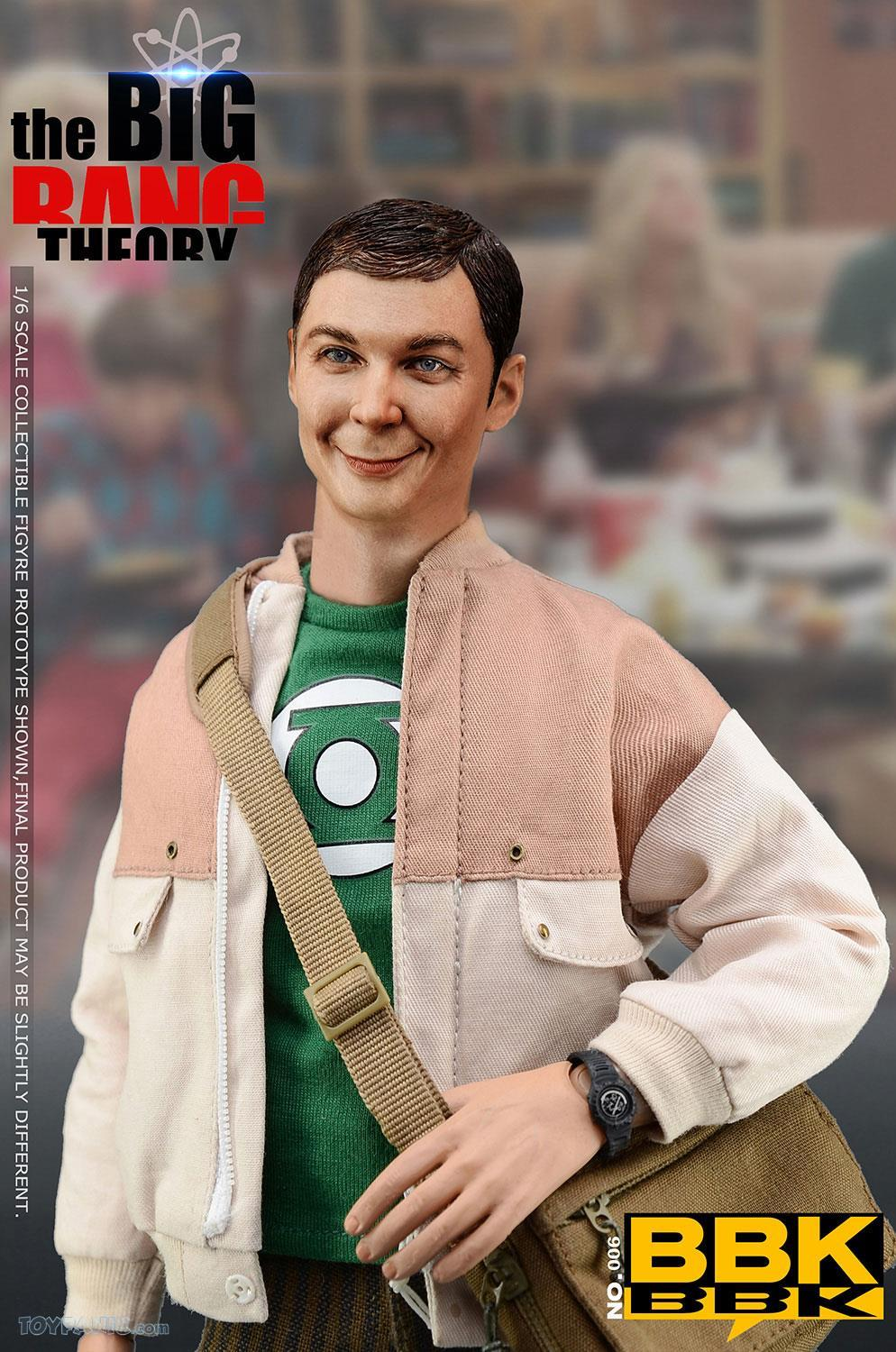 bbk - NEW PRODUCT: BBK: 1/6 scale The Big Bang Theory Sheldon Cooper Action Figure (BBK06) 49201915