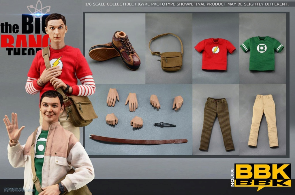 bbk - NEW PRODUCT: BBK: 1/6 scale The Big Bang Theory Sheldon Cooper Action Figure (BBK06) 49201917