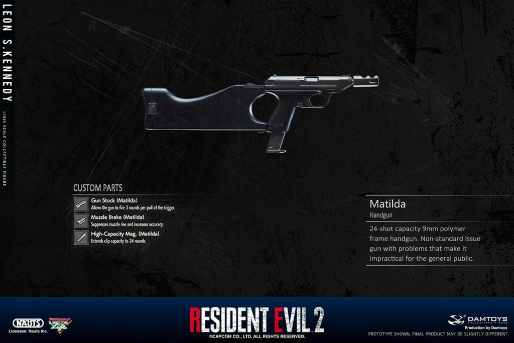 "Sci-Fi - NEW PRODUCT: NAUTS & DAMTOYS: 1/6 ""Resident Evil 2""-LEON S.KENNEDY/Lyon S. Kennedy remake #DMS030  4c582710"