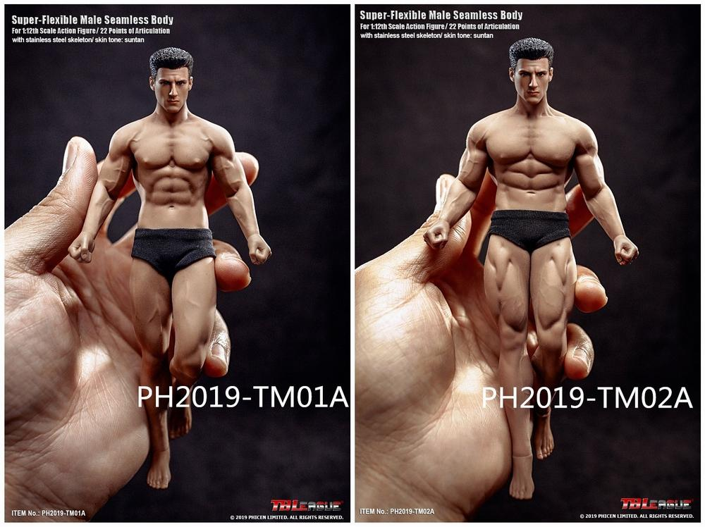 NEW PRODUCT: TBLeague: 1/12 Male Body PH2019-TM01A B 6IN Action Figure F SHFiguart #Suntan 4eaf1210