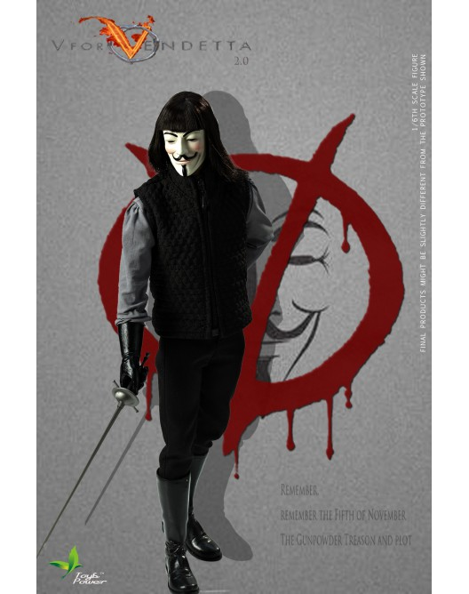 ToysPower - NEW PRODUCT: Toyspower CT013 1/6 Scale V for VENDETTA 2.0 5-1-5210