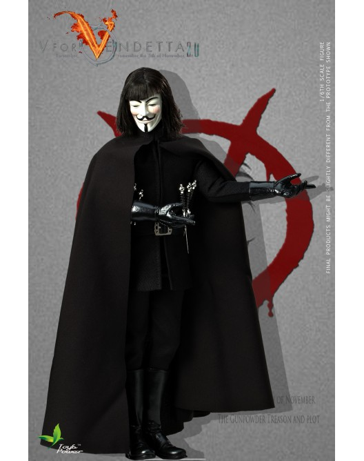 ToysPower - NEW PRODUCT: Toyspower CT013 1/6 Scale V for VENDETTA 2.0 5-2-5210