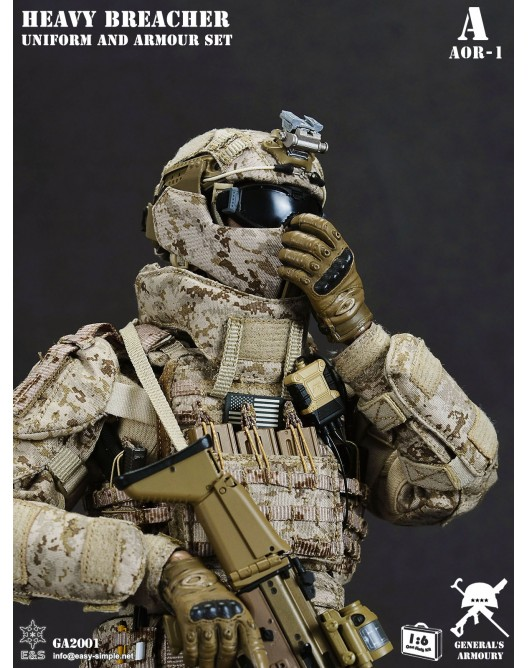 General - NEW PRODUCT: General's Armoury GA2001 1/6 Scale Heavy Breacher Uniform and Armour Set 5-528x11