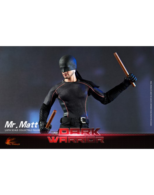Netflix - NEW PRODUCT: Hot Heart FD007 1/6 Scale The Dark Warrior action figure 5-528x14