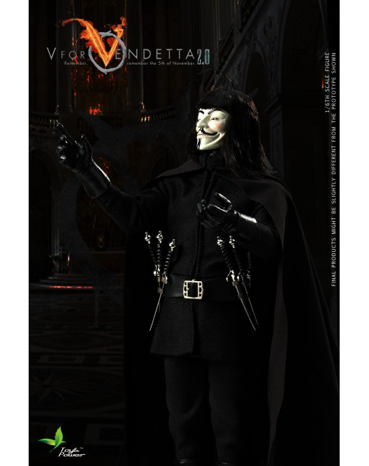 ToysPower - NEW PRODUCT: Toyspower CT013 1/6 Scale V for VENDETTA 2.0 5-528x19