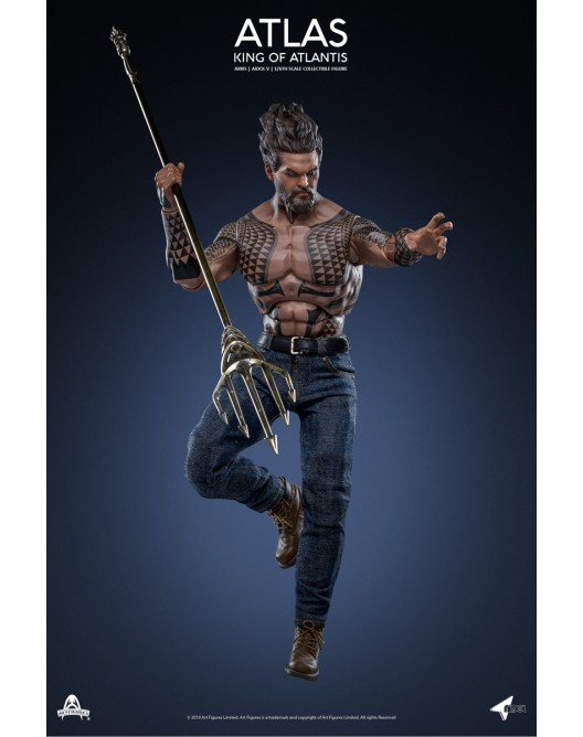 NEW PRODUCT: Art Figure AI-005 1/6 Scale King of Atlantis ATLAS 5-528x22