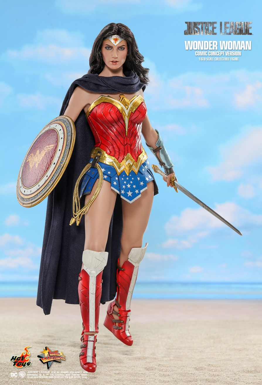 NEW PRODUCT: HOT TOYS: JUSTICE LEAGUE WONDER WOMAN (COMIC CONCEPT VERSION) 1/6TH SCALE COLLECTIBLE FIGURE 5101