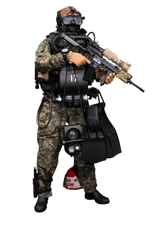 DamToys - NEW PRODUCT: DAM Toys: Marine Force Recon Combat Diver (Desert MARPAT) (GIDAM-78056) & (Woodland MARPAT) (GIDAM-78055) 5110