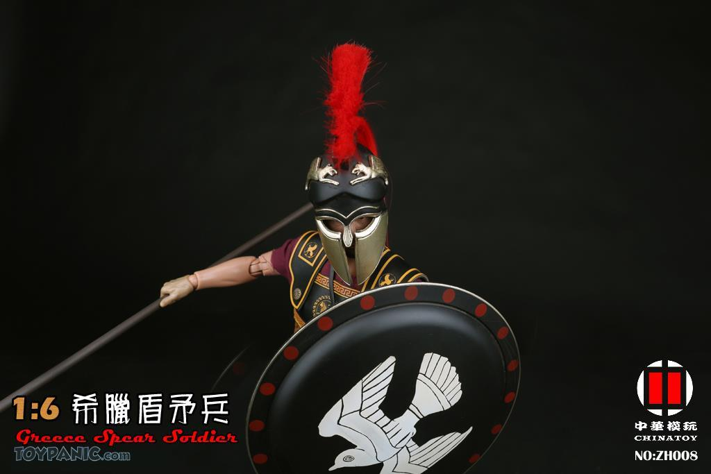 military - NEW PRODUCT: CHINATOY: 1/6 Greek Shield Spear Soldiers (ZH008) Code: ZH008_2 51220120