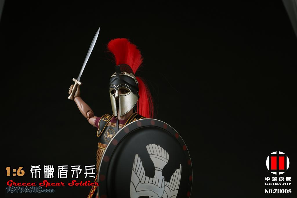 military - NEW PRODUCT: CHINATOY: 1/6 Greek Shield Spear Soldiers (ZH008) Code: ZH008_2 51220121