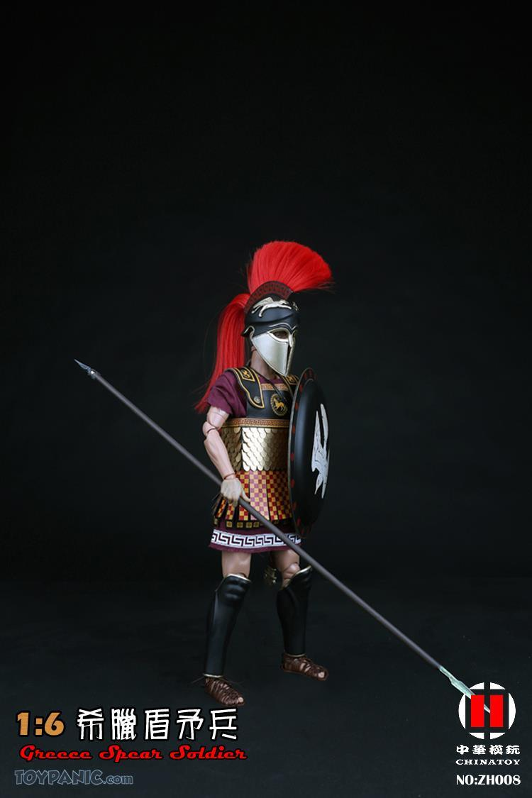 military - NEW PRODUCT: CHINATOY: 1/6 Greek Shield Spear Soldiers (ZH008) Code: ZH008_2 51220124