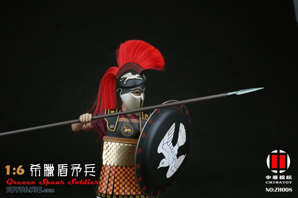 military - NEW PRODUCT: CHINATOY: 1/6 Greek Shield Spear Soldiers (ZH008) Code: ZH008_2 51220125
