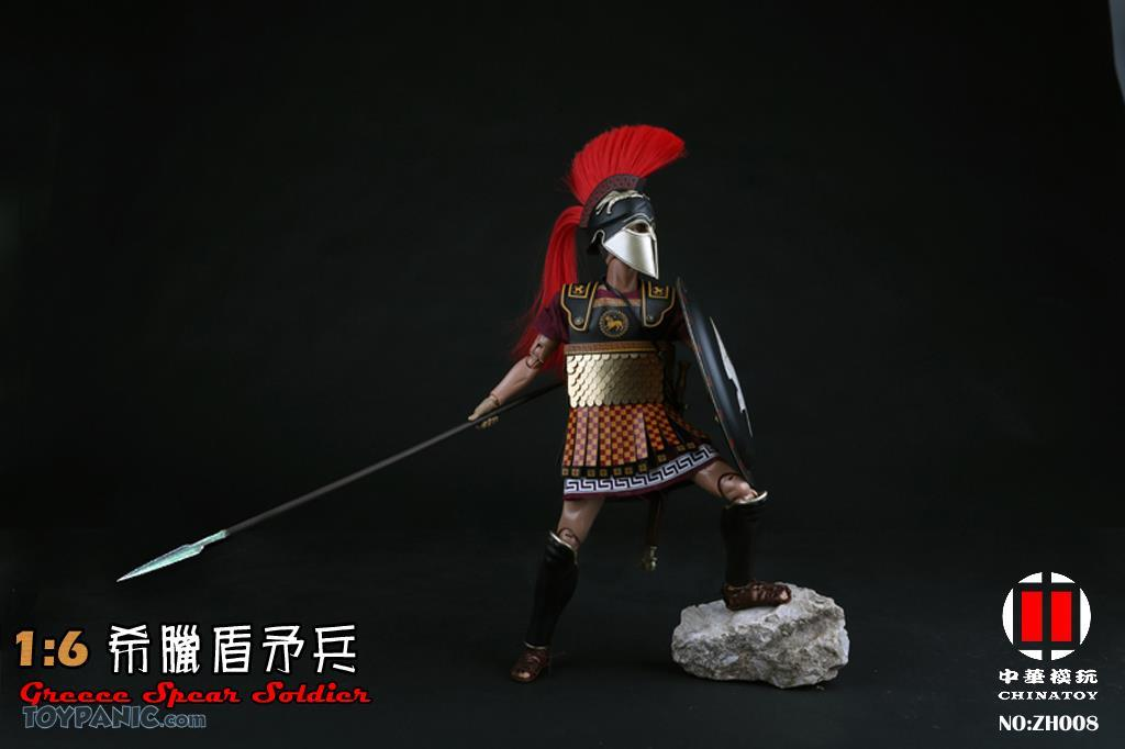 military - NEW PRODUCT: CHINATOY: 1/6 Greek Shield Spear Soldiers (ZH008) Code: ZH008_2 51220126
