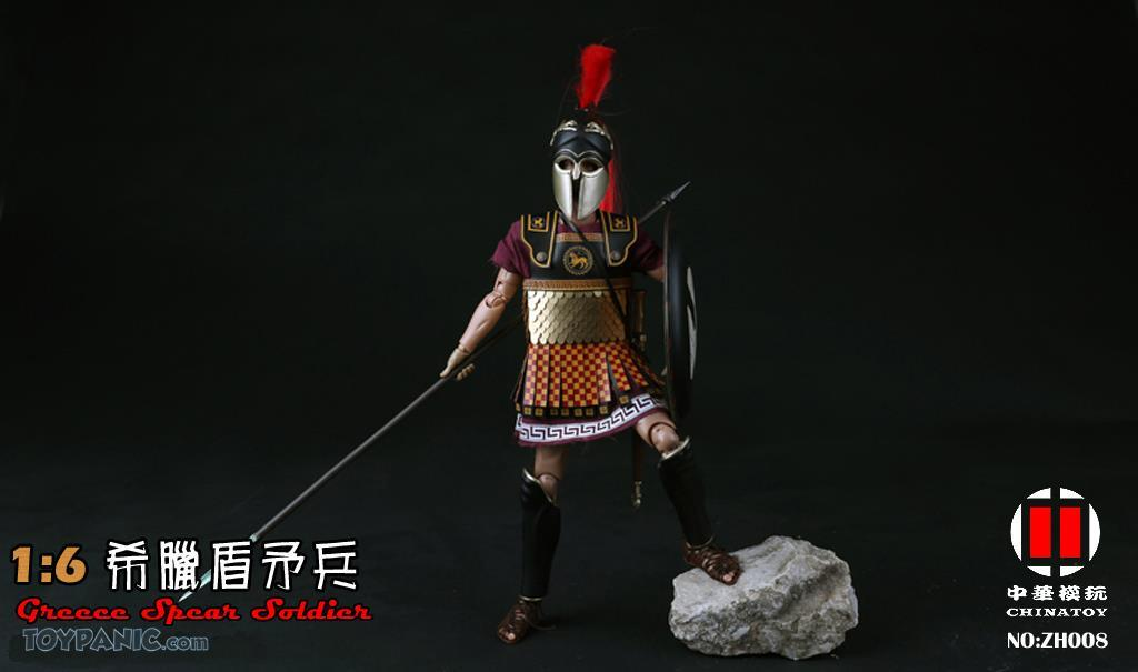 military - NEW PRODUCT: CHINATOY: 1/6 Greek Shield Spear Soldiers (ZH008) Code: ZH008_2 51220127