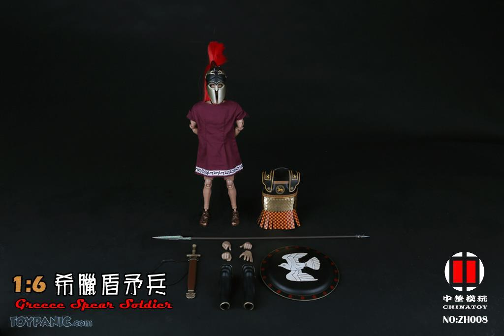 military - NEW PRODUCT: CHINATOY: 1/6 Greek Shield Spear Soldiers (ZH008) Code: ZH008_2 51220128