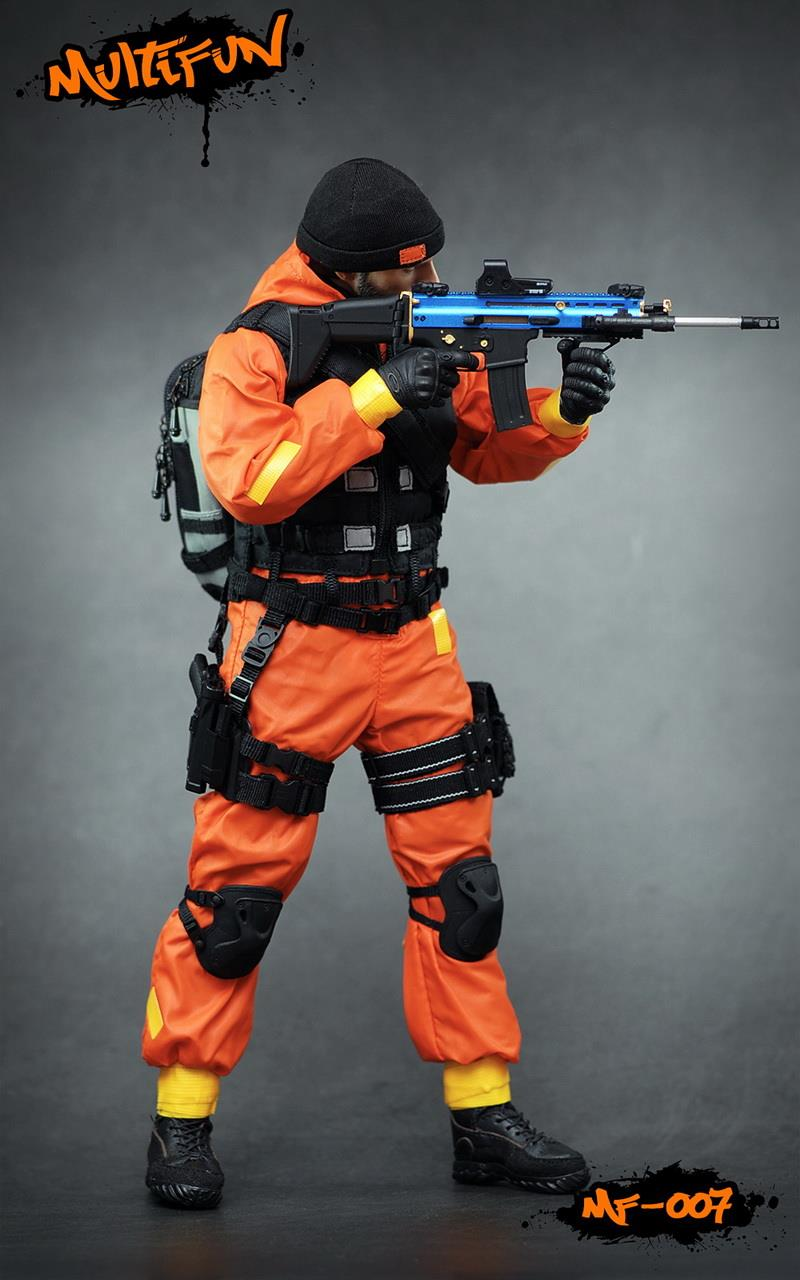 NEW PRODUCT: MULTIFUN 1/6th scale Quarantine Zone Agent 12-inch action figure Set 5125