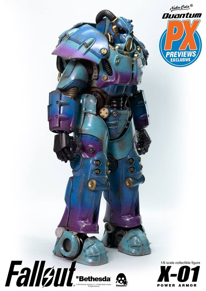 "Fallout - NEW PRODUCT: Three Zero Exclusive 1/6th scale X-01 ""Quantum"" Power Armor 14.5-inch Figure Set 5126"