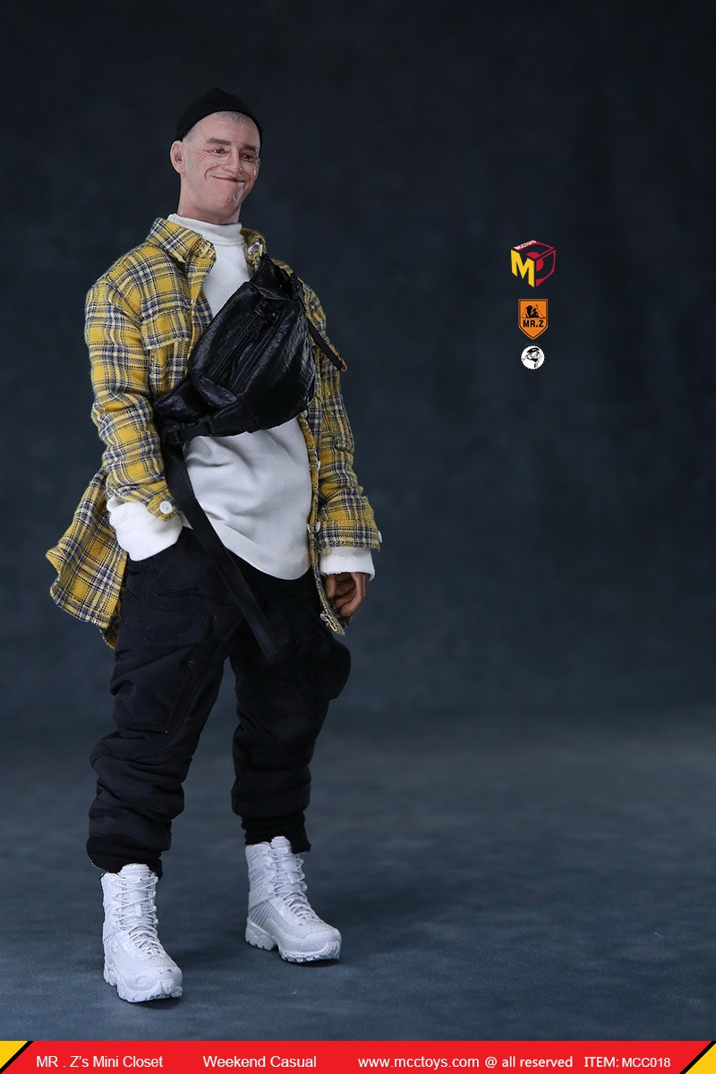 MCCTOys - NEW PRODUCT: MCCToys x Mr.Z: 1/6 Z's Mini Closet Series - Weekend Casual Set (MCC01#) 5142