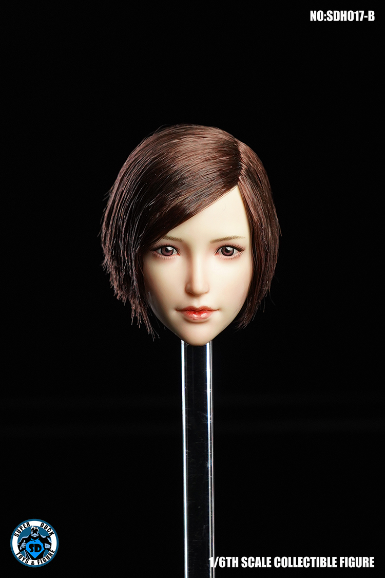 superduck - NEW PRODUCT: SUPER DUCK New product: 1/6 SDH017 Female head carving - ABC three models 5155