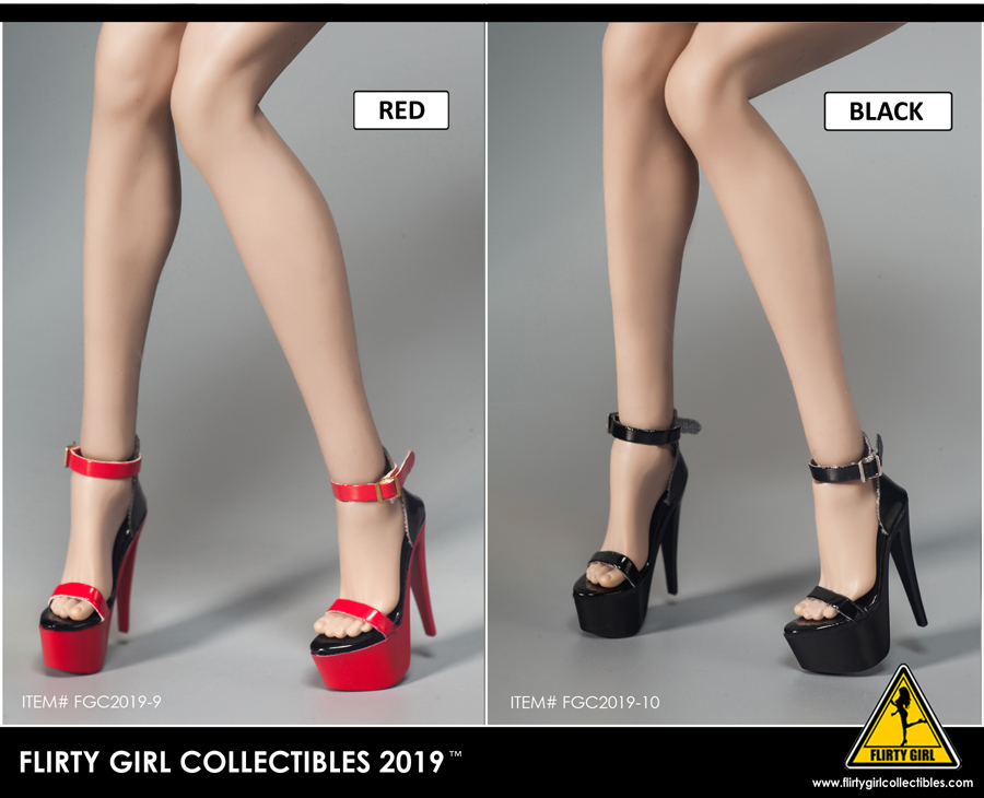 highheels - NEW PRODUCT: FLIRTY GIRL COLLECTIBLES 2019: 1 / 6 women's high heels four Fashion Boots & FGC2019-9 and -10 women's shoes 5159