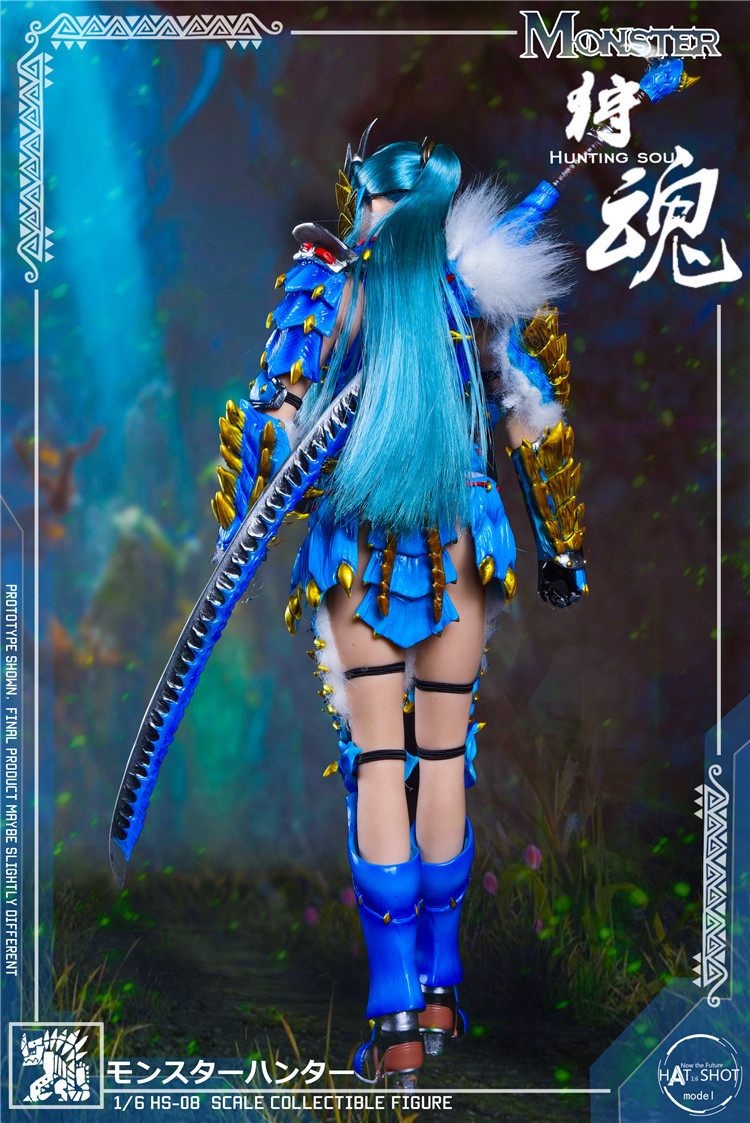 fantasy - NEW PRODUCT: HATSHOT: [HS-08] 1:6 Hunting Soul Doll Version Figure Accessories & [HS-08D] 1:6 Hunting Soul Doll & Platform Version Figure Accessories 5164