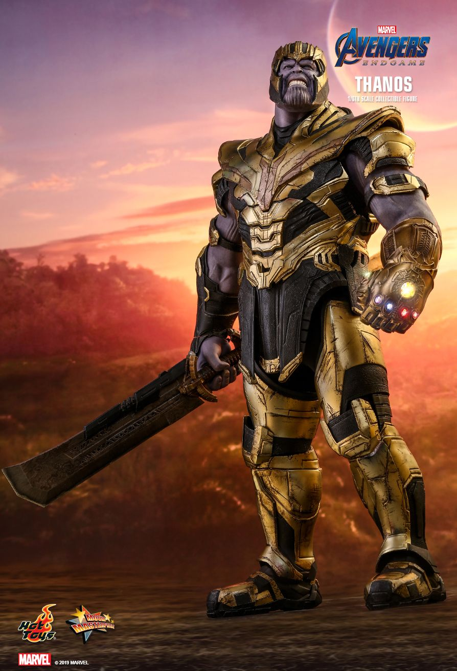 Thanos - NEW PRODUCT: HOT TOYS: AVENGERS: ENDGAME THANOS 1/6TH SCALE COLLECTIBLE FIGURE 5177