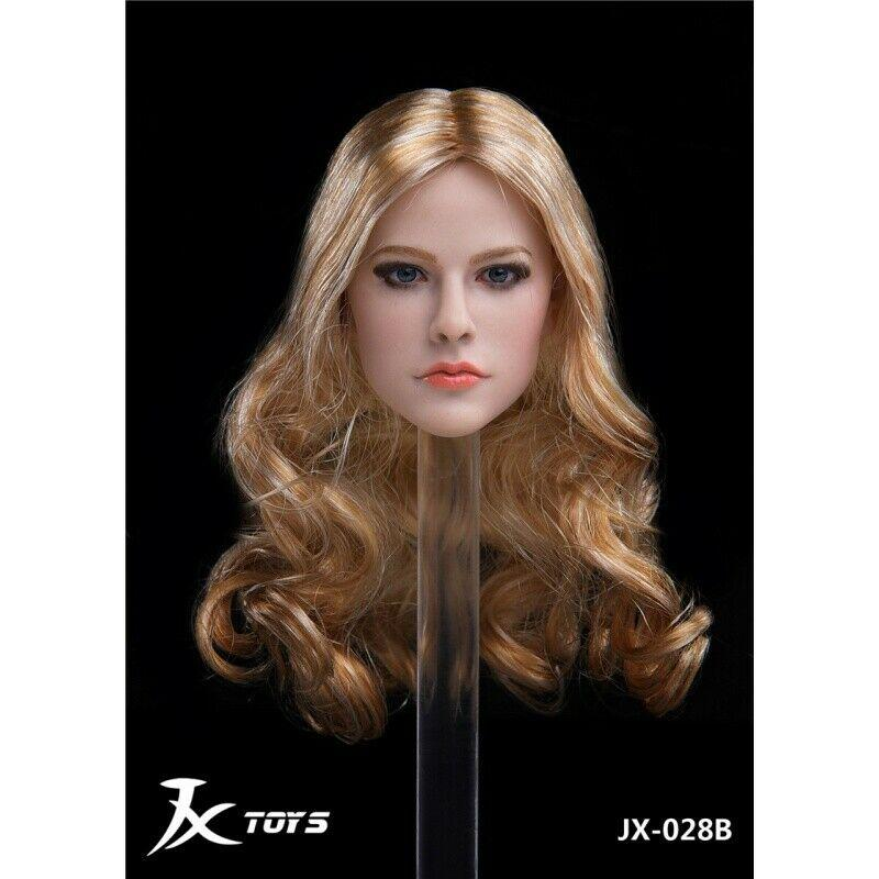 Avril - NEW PRODUCT: JXTOYS JX-029 Avril Head Sculpt H#Suntan 5186